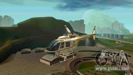 Bell 206 B Police texture4 for GTA San Andreas