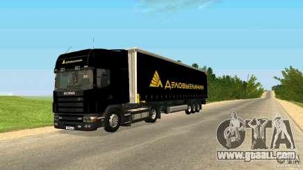 Scania 114L for GTA San Andreas