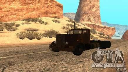 Duel Peterbilt for GTA San Andreas