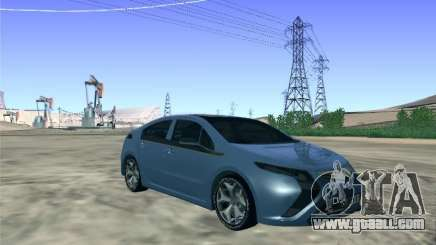 Opel Ampera 2012 for GTA San Andreas