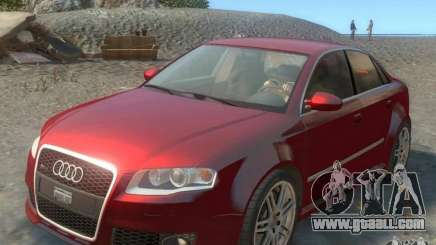 Audi RS4 Undercover v 2.0 for GTA 4