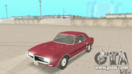Pontiac Firebird 1968 for GTA San Andreas