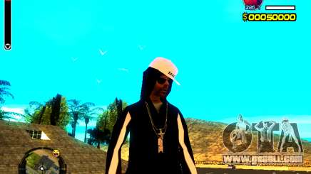 Skin bum v8 for GTA San Andreas