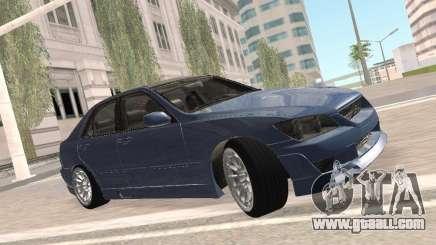 Lexus IS300 HellaFlush for GTA San Andreas