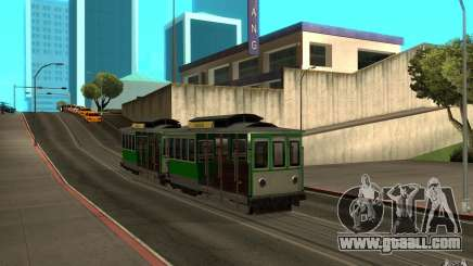 New tram mod for GTA San Andreas