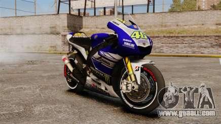 Yamaha YZR-M1 for GTA 4
