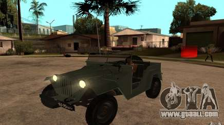 GAZ 67 b for GTA San Andreas