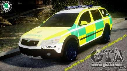 Skoda Octavia Scout Paramedic [ELS] for GTA 4
