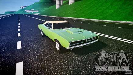 Dodge Charger RT 1969 tun v1.1 for GTA 4