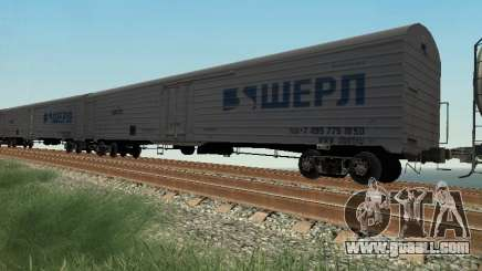 Freight car for GTA San Andreas
