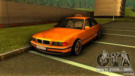 BMW 730i Taxi for GTA San Andreas