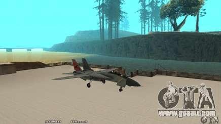 F14W Super Weirdest Tomcat Skin 2 for GTA San Andreas