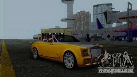 Rolls Royce Phantom Series II Drophead Coupe 12 for GTA San Andreas