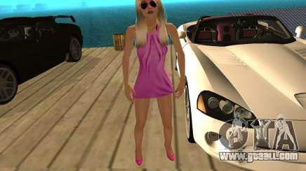 Mia Pinky for GTA San Andreas