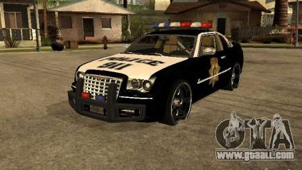 Chrysler 300C Police for GTA San Andreas