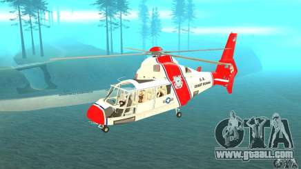 AS-365N United States Coast Guard for GTA San Andreas