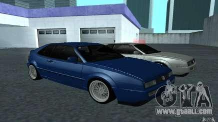 Volkswagen Corrado turquoise for GTA San Andreas