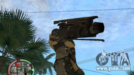 Alien weapons from Crysis 2 v2 for GTA San Andreas