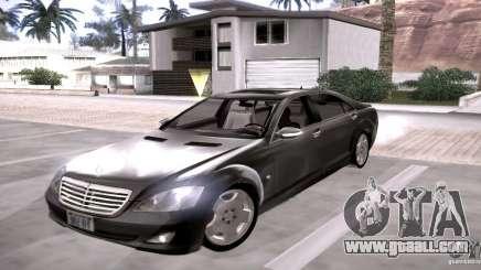 Mercedes-Benz S600 v12 for GTA San Andreas