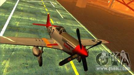 P51D Mustang Red Tails for GTA San Andreas
