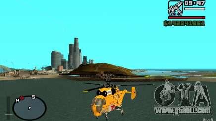 KA-27 N for GTA San Andreas