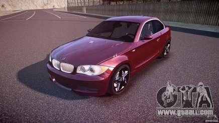 BMW 135i Coupe v1.0 2009 for GTA 4