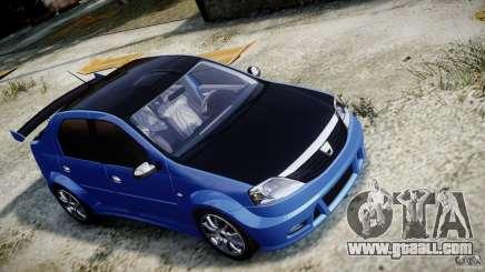 Dacia Logan 2008 [Tuned] for GTA 4