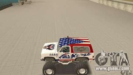 Chevrolet Blazer K5 Monster Skin 7 for GTA San Andreas