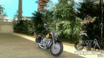 Harley Davidson FLSTF (Fat Boy) for GTA Vice City