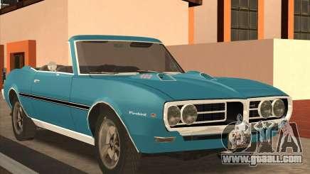 Pontiac Firebird Conversible 1966 for GTA San Andreas