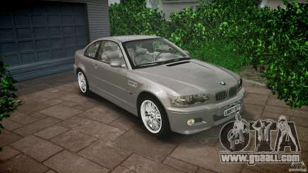 BMW M3 e46 v1.1 for GTA 4