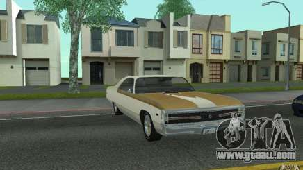 Chrysler 300 Hurst 1970 for GTA San Andreas