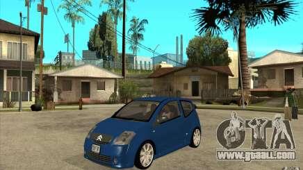 Citroen C2 - Stock for GTA San Andreas