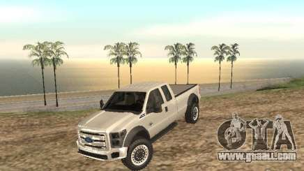 Ford Super Duty F-550 for GTA San Andreas