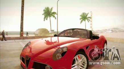 Alfa Romeo 8C Spider for GTA San Andreas