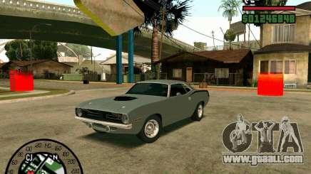 Plymouth Hemi Cuda 440 for GTA San Andreas