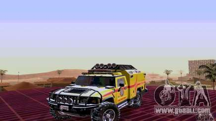 Hummer H2 Ambluance from Transformers for GTA San Andreas