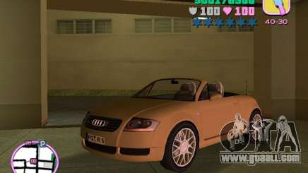 Audi TT ROADSTER for GTA Vice City