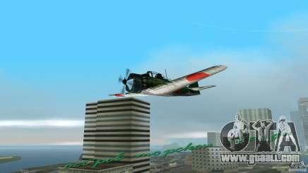 Zero Fighter Plane for GTA Vice City