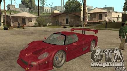 Ferrari F50 GT (v1.0.0) for GTA San Andreas