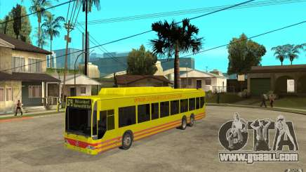 Mercedes Benz Citaro L for GTA San Andreas