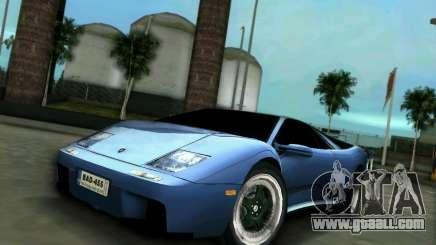 Lamborghini Diablo for GTA Vice City