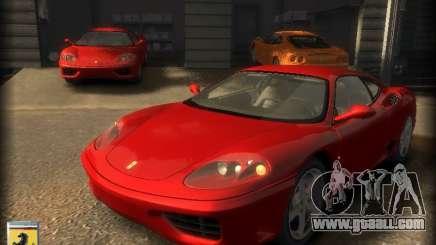 Ferrari 360 modena for GTA 4