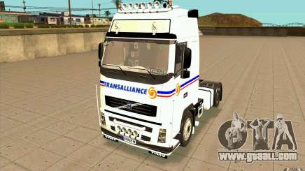 Volvo FH16 Globetrotter TRANSALLIANCE for GTA San Andreas