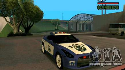 Nissan GTR35 Police Undercover for GTA San Andreas