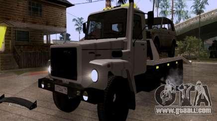 GAZ 3309 tow truck for GTA San Andreas