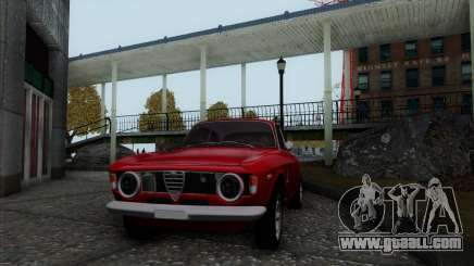 Alfa Romeo Giulia Sprint 1965 for GTA San Andreas