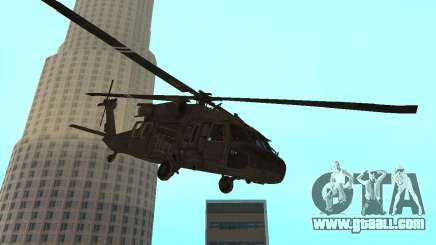 UH-60 Black Hawk for GTA San Andreas