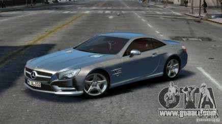 Mercedes-Benz SL 350 2013 v1.0 for GTA 4