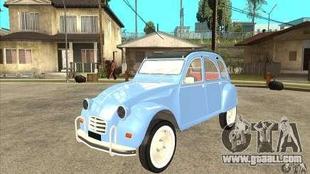 Citroen 2CV for GTA San Andreas